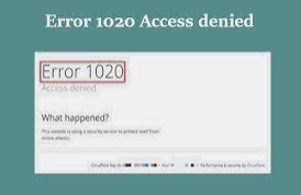 Cloudflare Error 1020 – Complete Guide to Solution for You