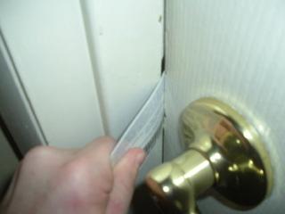 How to Open a Locked Door?
